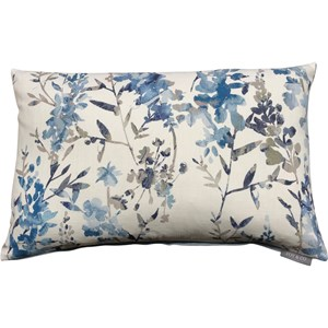 Exotic Floral Cushion | Romo Black